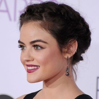 Lucy Hale's People's Choice Award Updo Made for Perfect Next-Day Hair