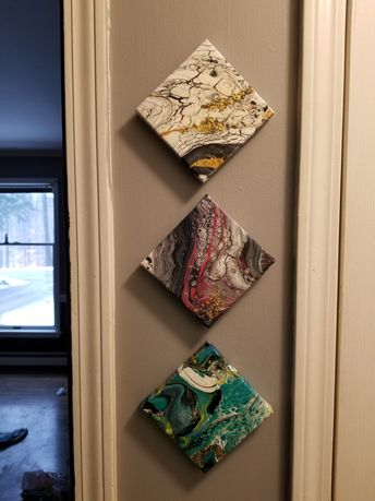 How to Pour Beautiful Polyptychs: Using Multiple Canvases Without Fear
