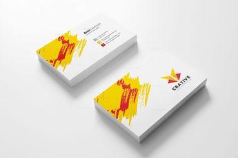 Creative Visit Card Template 002925 - Template Catalog
