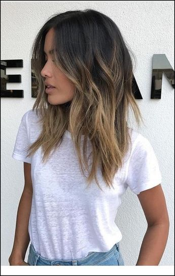110+ medium to long hair styles - ombre balayage hairstyles for women 2019 - page 9 ~ producttall.com