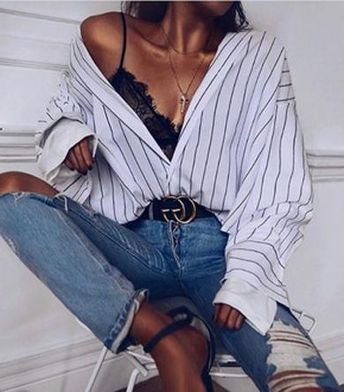 Pretty striped shirt