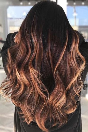 Faits saillants rougeâtre #brunette #highlights Savez-vous à quel point vous