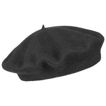 Cappello basco francese nero DoubleBulls b91783c7a5ea