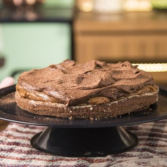 Torta Brownie con Mousse de Chocolate