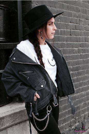 Blackjack Oversized Denim Jacket