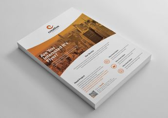 Geneva Stylish Business Corporate Flyer Template 001424 - Template Catalog