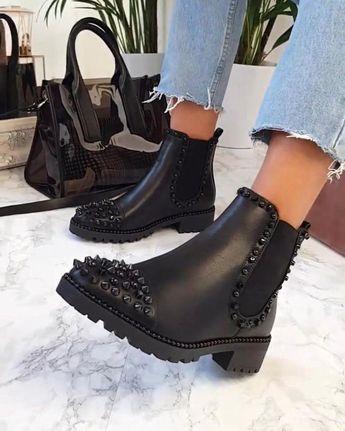 botines de moda 2018, botines para dama, botines de moda 2018 mujer, tendencias ...  #botines #dama #Moda #mujer #para #tendencias