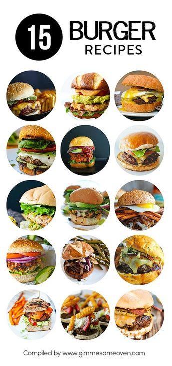 15 Big Burger Recipes