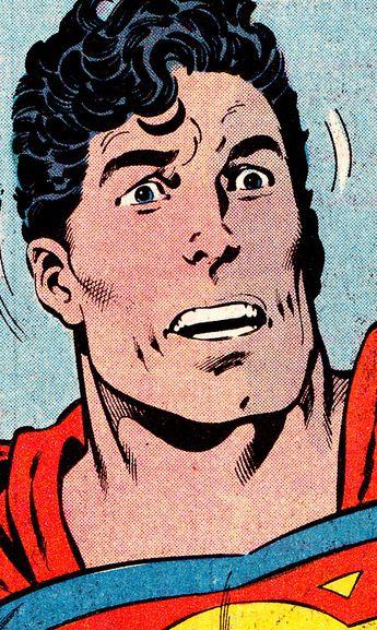 COMIC BOOK CLOSE UP S U P E R M A N Superman #21 (Sept. 1988) John Byrne (pencils), John Beatty (inks) & Petra Scotese (colors)