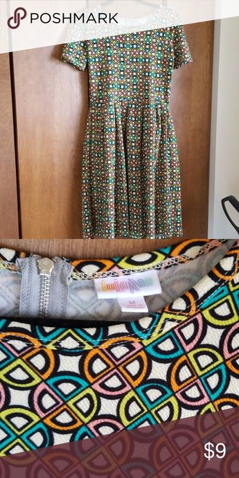 Lularoe dress Fun disco pattern Lulaore dress size M LuLaRoe Dresses Midi