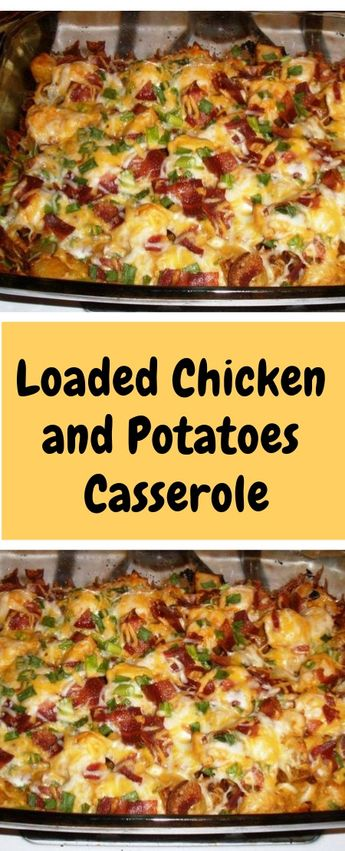 Loaded+Chicken+and+Potatoes+Casserole