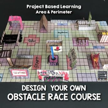 Project Based Learning: GEOMETROCITY! Build a City of Math