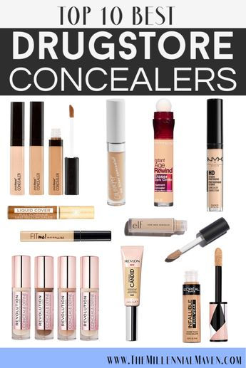 *UPDATED 2019* Top 10 BEST Concealers At The Drugstore! (Best Drugstore Concealer)