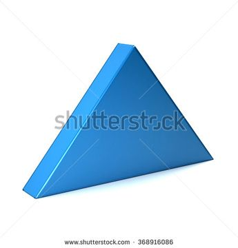 Index up - 3D arrow icon  - stock photo
