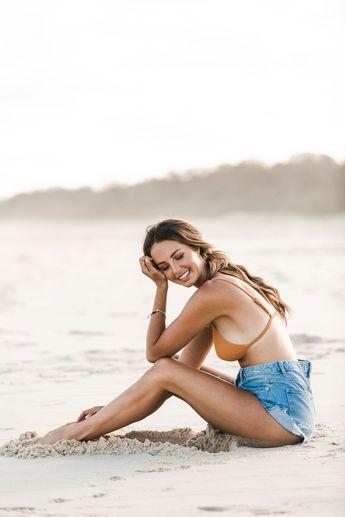 Female Entrepreneur.   Beach Photoshoot.