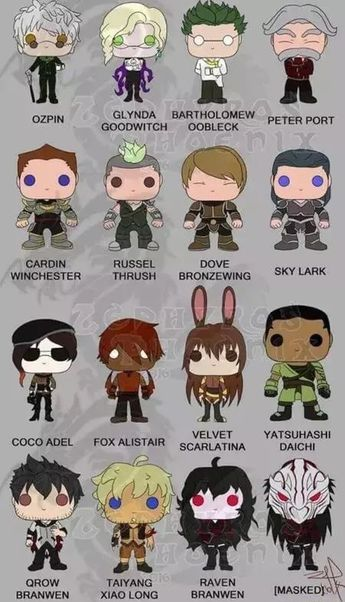 43f6c8bd7465 If they made RWBY pop figures I would be broke all the time.
