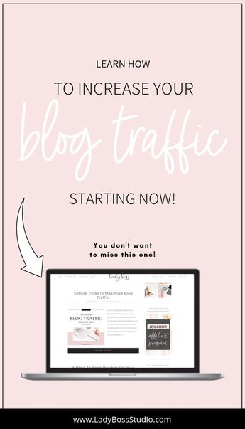 Simple Tricks to Maximize Blog Traffic! | Lady Boss Studio