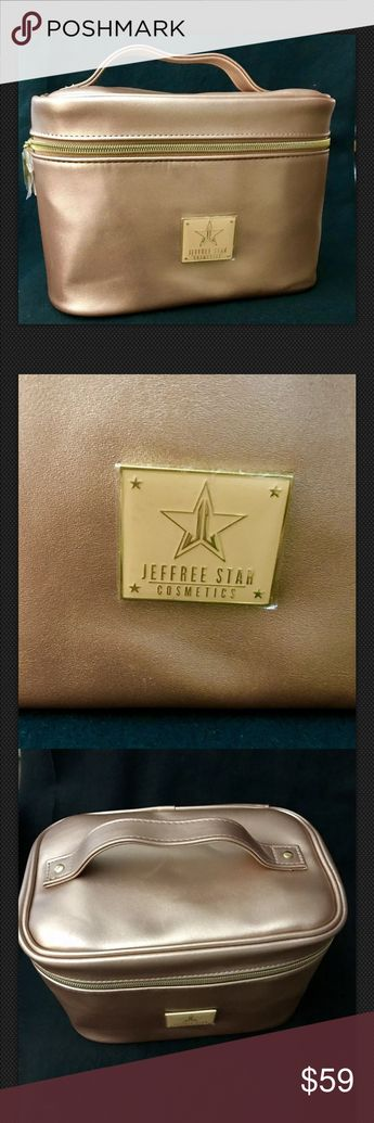 JeffreeStar Limited Edition Rose Gold Travel Bag Jeffree Star Cosmetics Limited Edition Rose Gold Travel Makeup Bag AUTHENTIC. Condition is New. Shipped with USPS First Class Package. Jeffree Star Bags Travel Bags