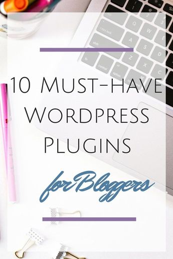 Blog Boss: 10 Must-Have Wordpress PlugIns - Hey There, Chelsie