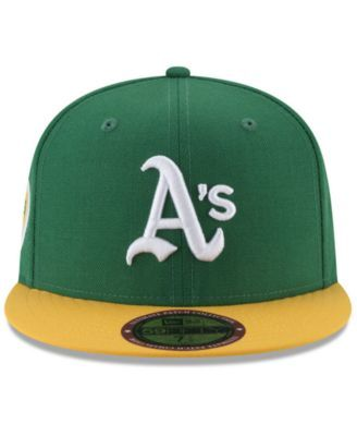 brand new 4344f 83bad New Era Oakland Athletics Ultimate Patch Collection World Series 2.0  59Fifty Fitted Cap - Green 7