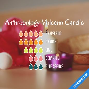 Anthropology Volcano Candle   DiffuserBlends.com