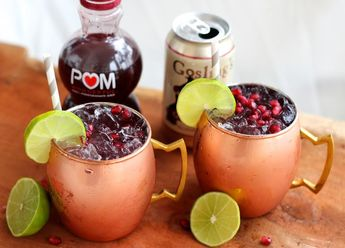 A Moscow Mule is the perfect drink to serve this holiday season. So many ...