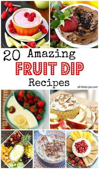 20 Amazing Fruit Dip Recipes