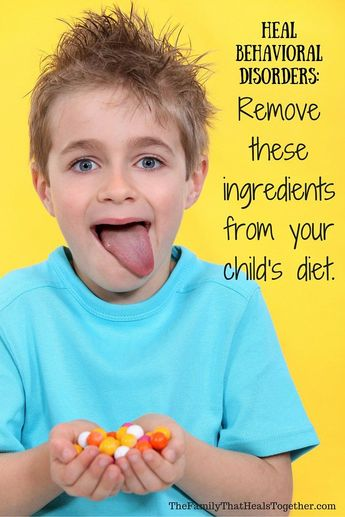 Heal Behavioral Disorders: Remove These Ingredients from Your Child's Diet NOW