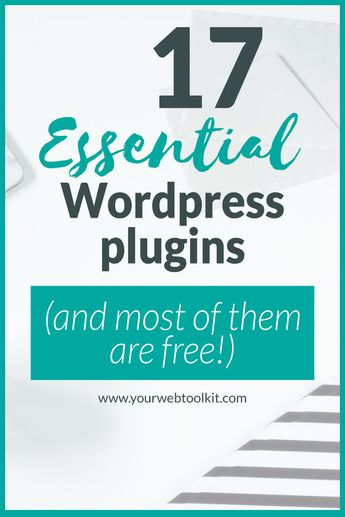 The Best Wordpress Plugins for Online Entrepreneurs | Your Web Toolkit