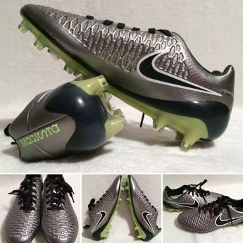 a0a680d76 Men's Nike Magista Opus ACC FG Firm Ground Soccer Cleats Metallic Pewter  Size 6 91205707016