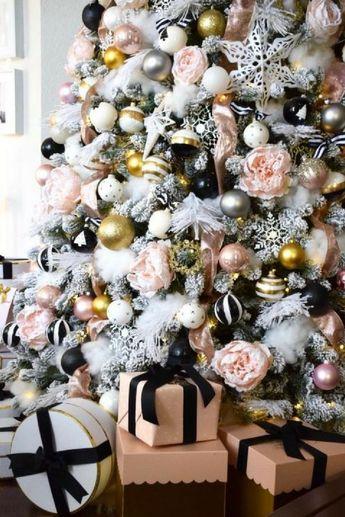 Christmas Living Room Makeover