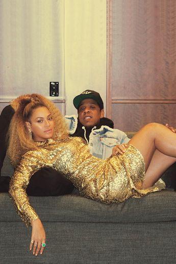 Beyoncé & Jay-Z I Love Gooooold My Life 12th December 2017