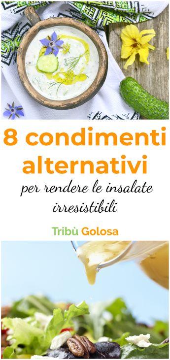 8 RICETTE dei CONDIMENTI più SAPORITI e ORIGINALI per rendere le INSALATE deliziose