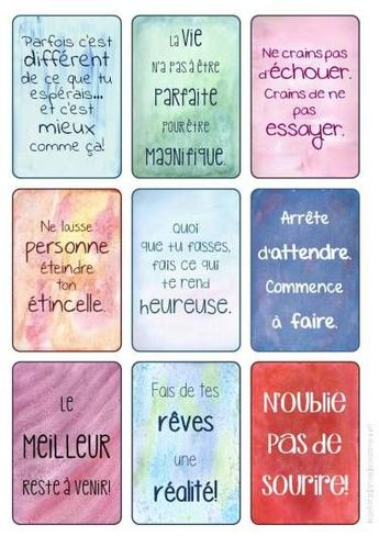 Quotes About Wedding : cartes positives 01