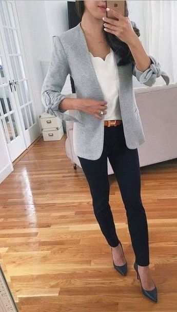 99 Trendy Spring Work Outfits Ideas To Achieve A Career - 99BestOutfits