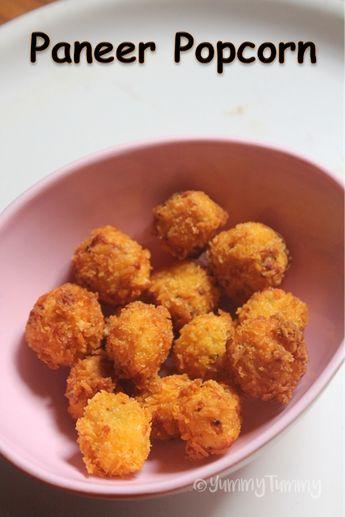 Paneer Popcorn Recipe - Popcorn Paneer Recipe