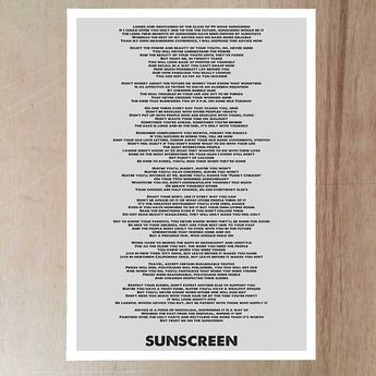 List Of Attractive Sunscreen Quotes Wear Ideas And Photos
