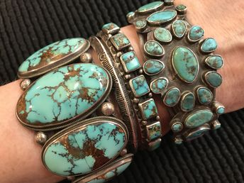 Navajo turquoise bracelets FOR SALE