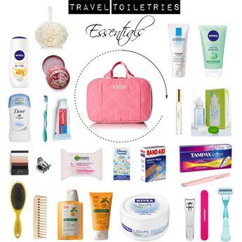 Travel Toiletries Essentials