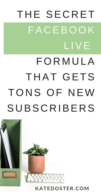 How to get more email subscribers with Facebook Live