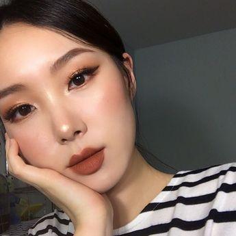 ☽ Pinterest: twilight_xoxo ☾ Korean makeup #korean #ulzzang #korean #koreanmakeup #ulzzang #ulzzangmakeup #koreanbeauty