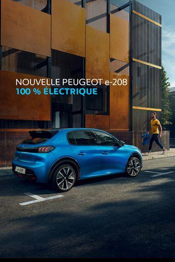 La voiture du futur est là. #Peugeot208 #Electrique #UnboringTheFuture