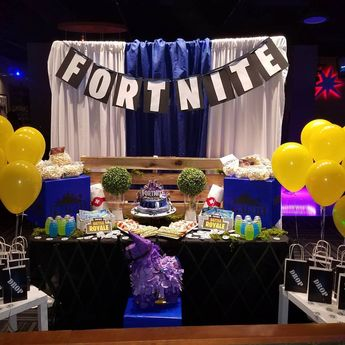 fortnite birthday party fortnite birthday events entrepreneur emagineinc - fortnite candy buffet