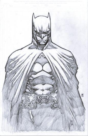 40 Magical Superhero Pencil Drawings