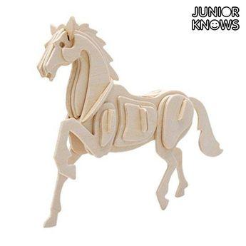 0,95€Granja Junior Knows 3D Wooden Animals Puzzle
