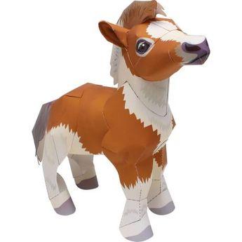 Falabella Miniature Horse,Animals,Paper Craft,Animals,Paper Craft,Pet series,Mammals ,cute,horse