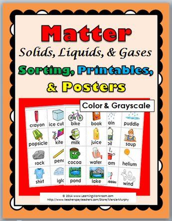 matter interactive reader solids liquids and gases