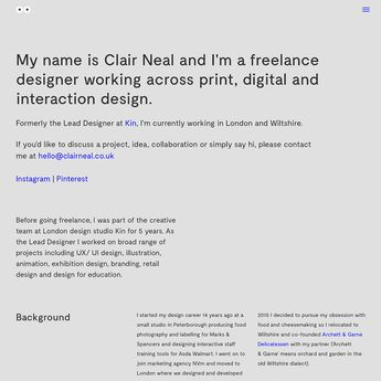 Fonts Used: Gascogne and Raleway · Typewolf Typography Ins