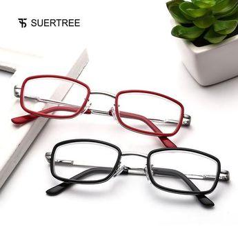 6cdbe60be617 SUERTREE Reading Glasses Prescription Eyeglasses Readers Full Rim HD  Coating Anti Blue 1.0 1.5 2.0 2.5