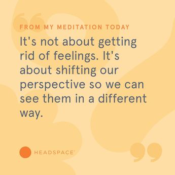 quote from headspace